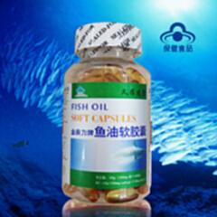 金奥力鱼油软胶囊100粒深海鱼油