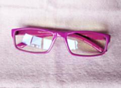 量子能量防辐射眼镜 纳米多功能负离子眼镜 紫色