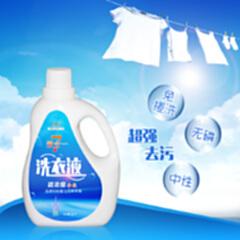珍优福七效合一洗衣液(仅发物流)1kg*12瓶装 超强去污 七合一
