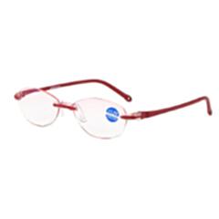 迎伊嘉 石墨烯 负离子量子 老花镜 眼镜 红色 150
