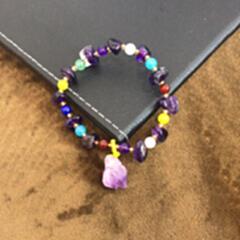 紫晶手串3801----zjsc-3801