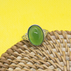 玉髓戒指 ysjz-3773