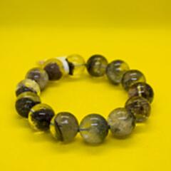 水晶手串绿褐红 sjsc sjsc-3(83.36克)