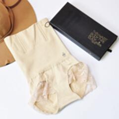 量子能量内裤 瘦腰精收腹女士内裤 肤色 M 适用腰围:2尺3-2尺7左右