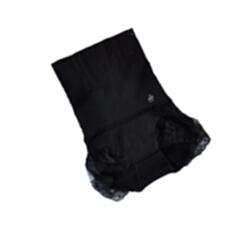量子能量内裤 瘦腰精收腹女士内裤 黑色 M 适用腰围:2尺3-2尺7左右