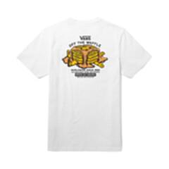 范斯VANS WORLDWIDE SINCE 1966男子短袖T恤 白色 S