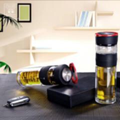 HXB-BL022高品质高绷硅玻璃经典黑梵客泡茶师