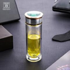 火象罗曼尼高档玻璃杯HXB-BL040 玫瑰金